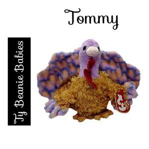 🔴 15/$25.  Ty Beanie Babies ~ Tommy the Turkey
